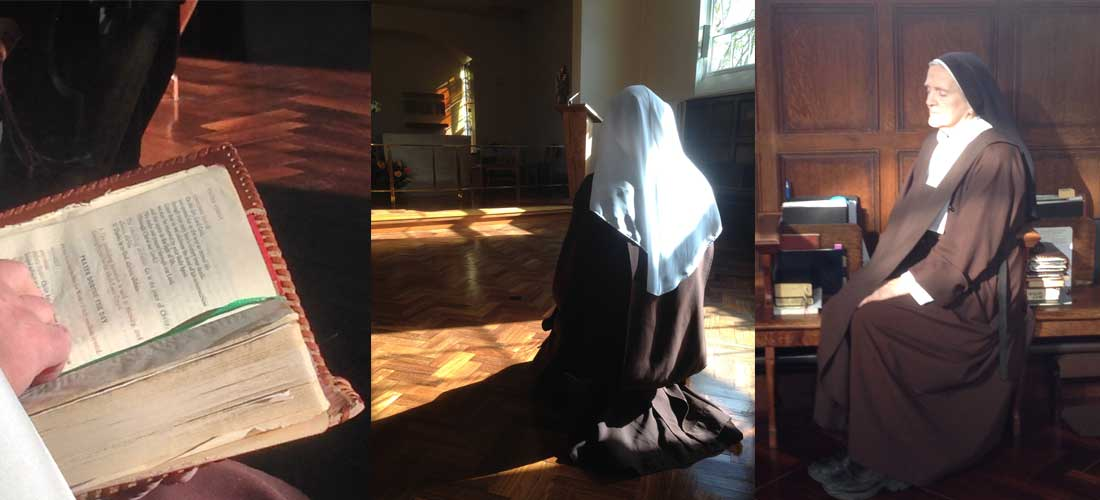 The Discalced Carmelite Nuns should give witness in the Church to a life of unceasing prayer<br /><span> Constitutions 78</span>