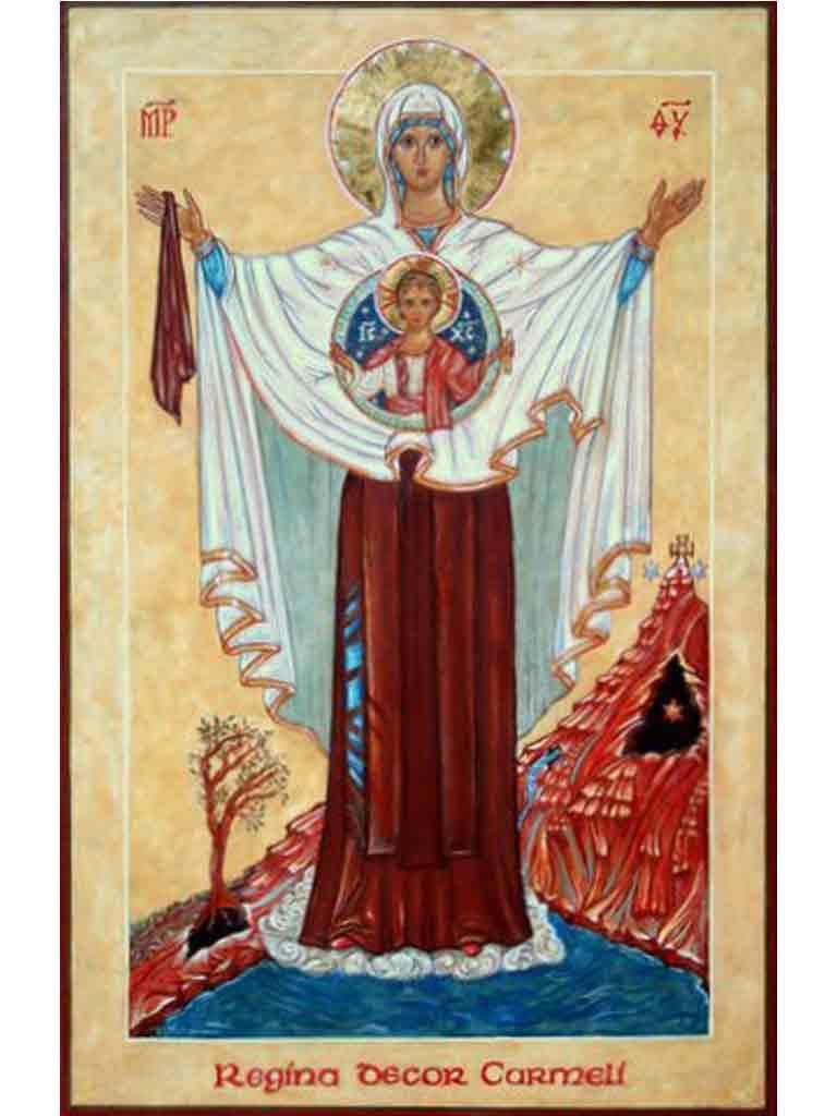 Icon courtesy of Quidenham Carmel
